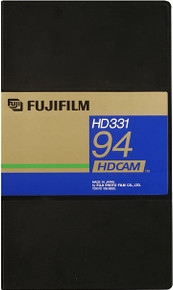 Fuji HDCAM 32 Minute Small Shell Video Tape