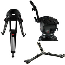 Cartoni Focus HD System with Head, Tripod and Spreader