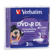 Verbatim Mini DVD+R Dual Layer Discs