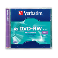 Verbatim DVD-RW DataLifePlus Single Disc