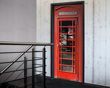 Digital Wallpaper Phone Box