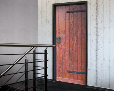 Digital Wallpaper Wooden Door