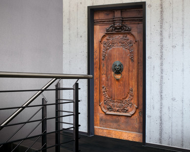 Digital Wallpaper Old Wooden Door