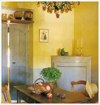 Kitchen With Limewash Walls