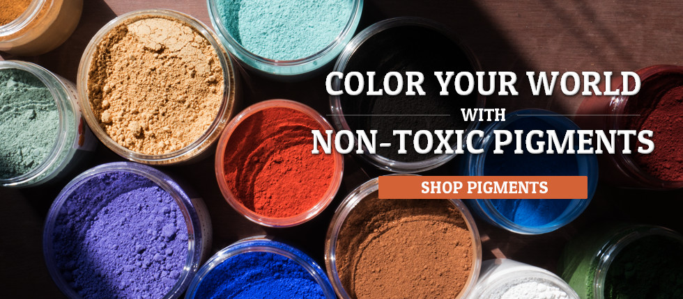 Non Toxic Pigments Mica Powders Paint Pigments Earth
