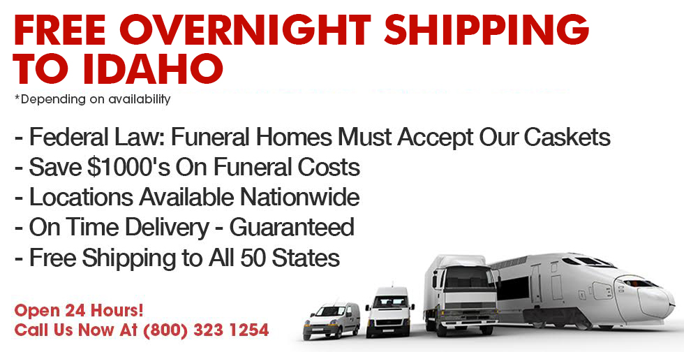 Idaho Casket Company   Discount Prices & Free Next Day Delivery