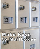 MAKE KEYS TO MAILBOXES in Calgary