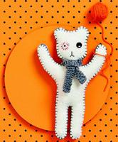panda w694 feltable wool toy