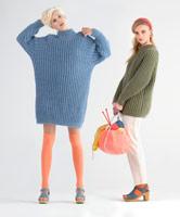 W374 Wool Mohair Rib Jumper