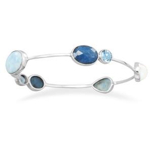 Blue Waters Bangle Bracelet