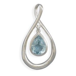 Blue Ice Pendant