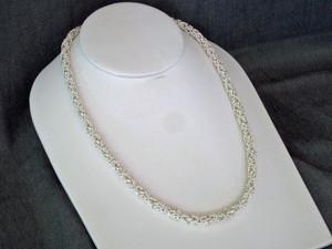 Byzantine Satin Necklace