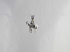 Small Horse Standing Pendant