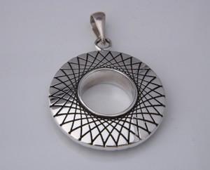 Spirograph Pendant