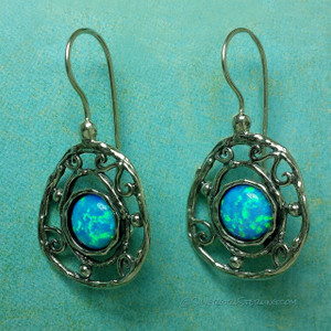Blue-Eyed Girl Earrings