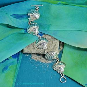 Scallop Shell Bracelet