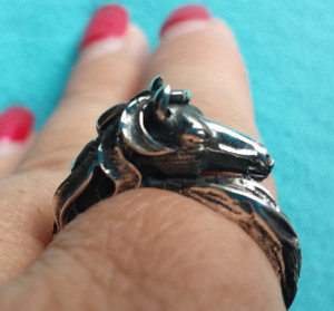 Horse Head Ring