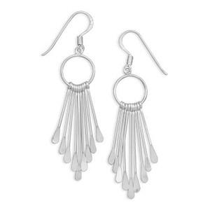 Circle Fringe Earrings