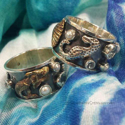 Mermaid & Company Ring