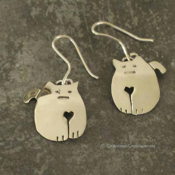 Furry Love Earrings