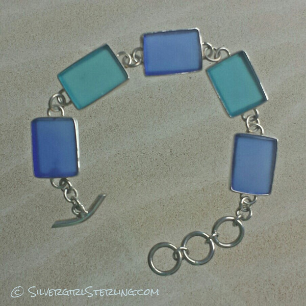 Sea Watch Bracelet - Cobalt/Azure