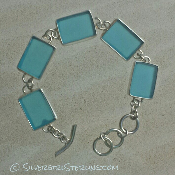 Sea Watch Bracelet - Azure