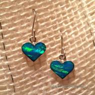 Lighthearted Earrings in Blue Opal
