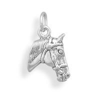 Small Horse Head Charm