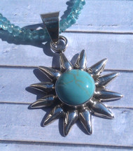 Mini Sunburst Pendant