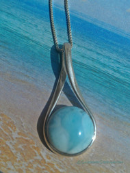 Island Girl Pendant (Shown on a simple box chain - sold separately)