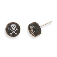 Pirate Flag Earrings