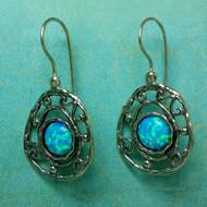 Blue-Eyed Girl Earrings