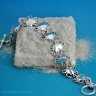 Crabby Link Bracelet