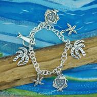 Octopus' Garden - Sea Life Charm Bracelet