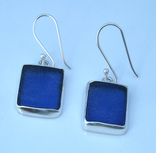 Sea Watch Earrings - Cobalt