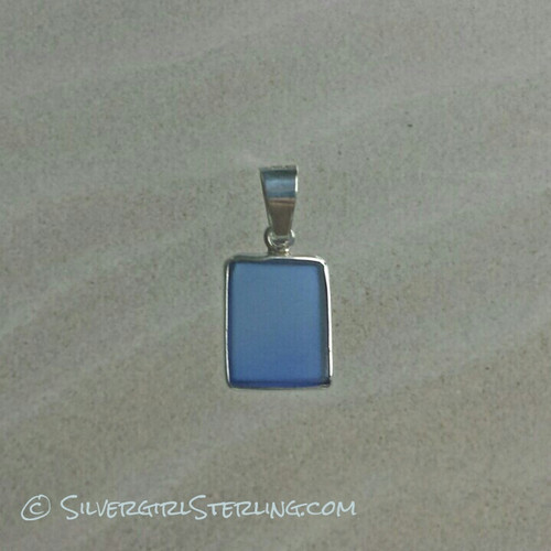 Sea Watch Pendant - Cobalt