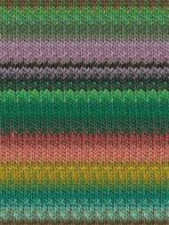 Noro - Taiyo #71 Greens, Pink, Orange, Black