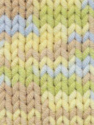 EuroBaby Babe Softcotton Chunky #201  Lt Yellow, Lt Blue, Yellow, Mint