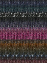 Noro - Silk Garden #412  Black, Grey, Violet, Green