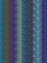 Noro - Silk Garden #373  Blue, Sky Blue, Royal, Light Green