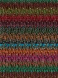 Noro - Silk Garden #381  Rust, Turquoise, Green, Red