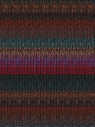 Noro - Kama #28 Brown Blue Red