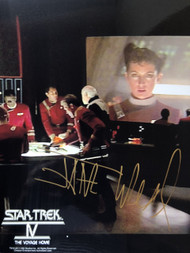 Signed by Jane - in Star Trek IV - with Voyage Home stamp