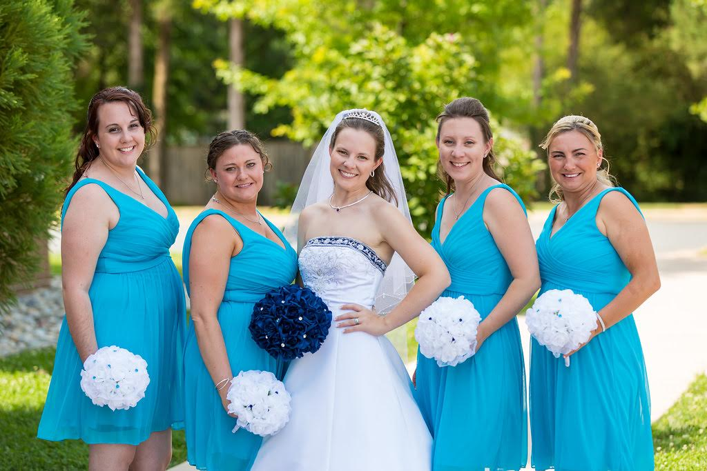 Blue Wedding Theme Thebridesbouquet