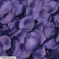 Purple Silk Rose Petals - 250 Petals - Wedding Centerpiece