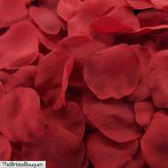 Red Silk Rose Petals - 250 Petals - Wedding Decoration