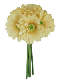 Yellow Gerbera Daisy Bouquet - Silk Wedding Flowers