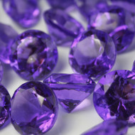 Diamond Confetti Table Decoration - Table Scatter 225 Piece/1 Pound - 20mm/30 Carat Extra Large - Purple