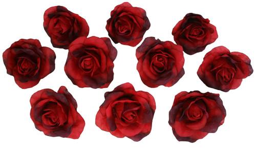 10 red rose heads silk flower weddingreception table decorations 10 red rose heads silk flower weddingreception table decorations bulk silk flowers mightylinksfo