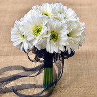 Ivory Daisy Bouquet Large - Silk Bridal Wedding Flowers